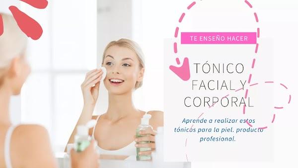 ▷ Cómo hacer un TÓNICO FACIAL casero para piel mixta (Corporal y facial)