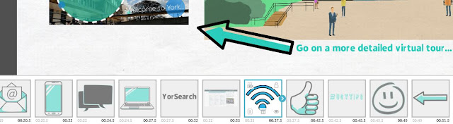 your VideoScribe timeline