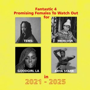 Mehcosa Join The List Of 4 Promising Female Artist To WatchOut For