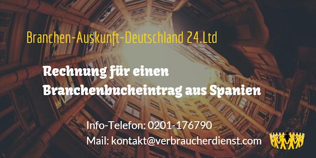 Branchen-Auskunft-Deutschland 24.Ltd  Inkassogesellschaft König mbH
