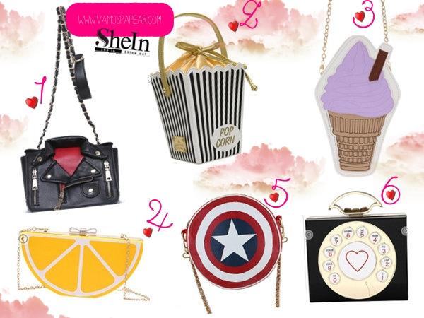 Bolsa de Soverte, Bolsa do capitão america, Bolsa com formato de telefone, bolsa com formato de laranja, bolsa com fomato de jaqueta ,Bolsa de Pipoca Fofa