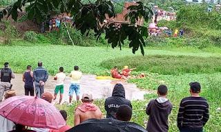 Três pessoas se afogam no rio em Cuitegi e duas estão desaparecidas; Bombeiros fazem buscas