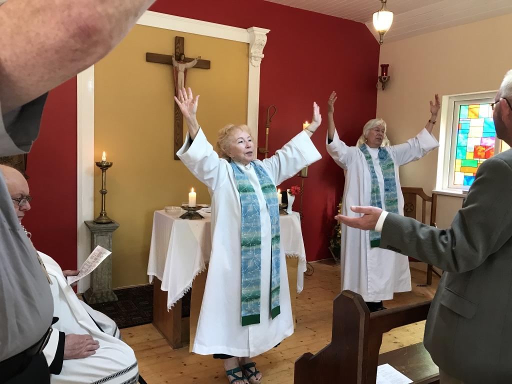 Pat Buckley Blog >> Bridget Mary S Blog Arcwp Priests Visit Ireland Day 20th Liturgy