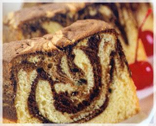 Cara membuat cake marmer
