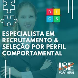 Curso Online Especialista em Recrutamento & Seleção Por Perfil Comportamental