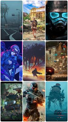 cyberpunk halo apocalypse end of world mask robot