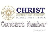Christ University Contact Number Bangalore Karnataka Pune Delhi
