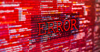 The meanings of error numbers that you may see on the Internet