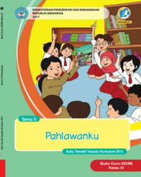 Buku tema 5 Guru Kelas 4 k13 2017