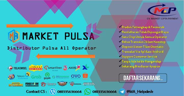 Deposit Pulsa Termurah Via Market Pulsa 2021