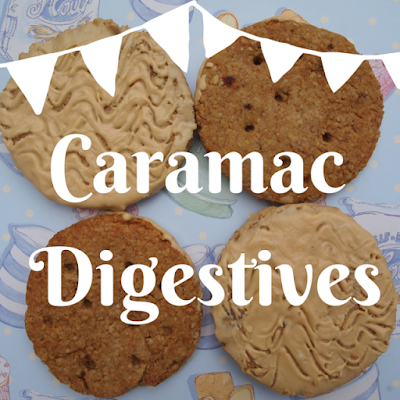 Caramac digestives recipe