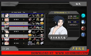 Naruto Senki Unity Engine