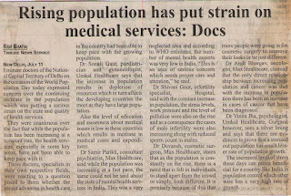 Rising population has put strain on medical services - Dr Shivani Sachdev Gour