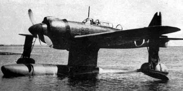 Kawanishi E15K Shiun makes its maiden flight on 5 December 1941 worldwartwo.filminspector.com