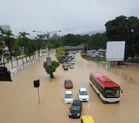 Banjir Sekitar Pulau Pinang. Salah Siapa?