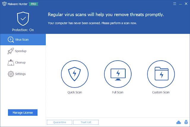 Screenshot Glarysoft Malware Hunter Pro 1.98.0.687 Full Version