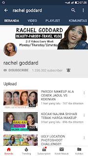 Rachel Goddard vlogger