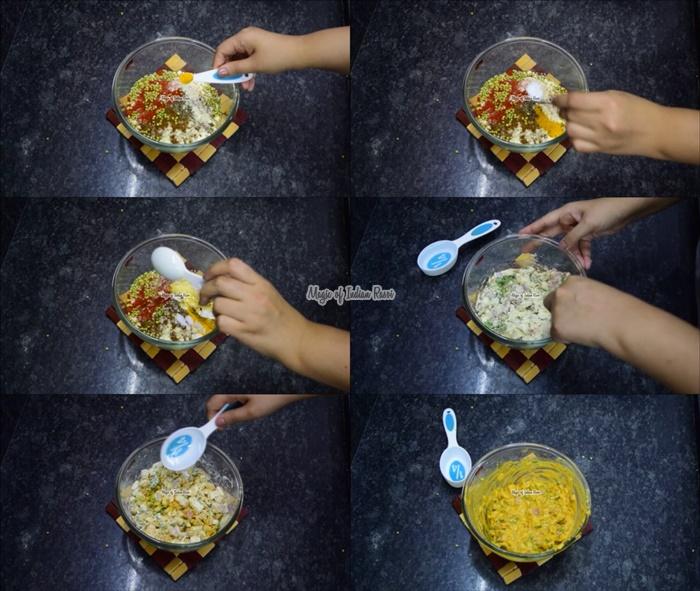 Crispy Onion Pakoda - Pyaaz Ka Padoda - क्रिस्पी करारे प्याज का पकोड़ा - Priya R - Magic of Indian Rasoi
