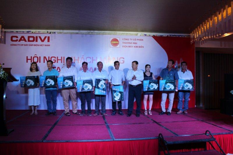 Cadivi tổ chức hội nghị khách hàng tại Cà Mau 2018