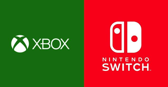 Xbox Microsoft Nintendo Switch