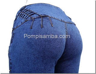 Pompis arriba jeans Mercado libre jeans pra dama de mayoreo