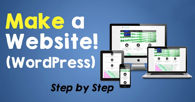 How to make a website using WordPress