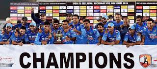 Sri Lanka tour of India 5-Match ODI Series 2014