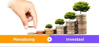 Pilih Menabung atau Investasi ?