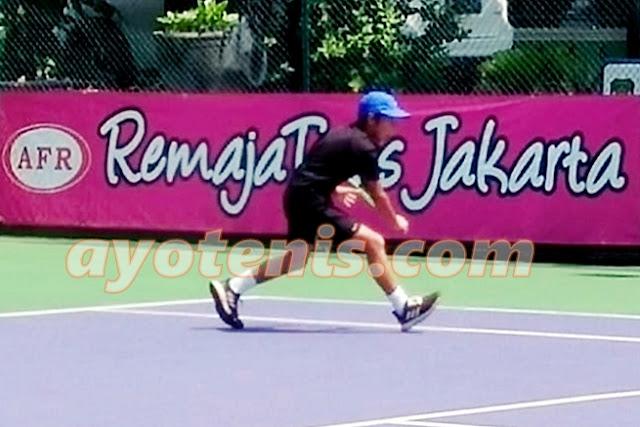 Petenis Luar Ibukota Dominasi Turnamen RemajaTenis Jakarta-91