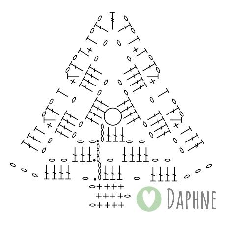 Haak By Daphne Omas Kerstboom 30