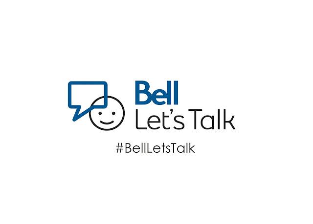 In Canada today is BellLetsTalk day