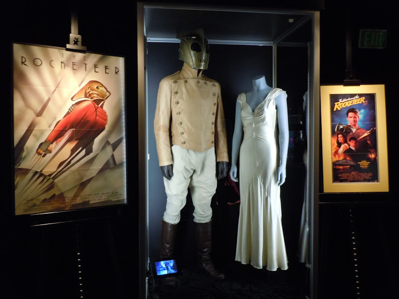 Rocketeer movie costume display