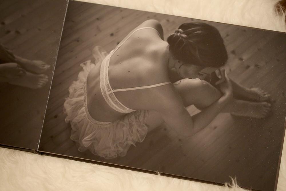 Ballerina schwarzweiß