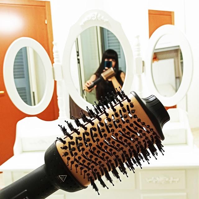 drynow spazzola asciugacapelli