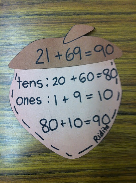 November ideas for the classroom include a tom turkey writing and craft and an acorn mental math craft