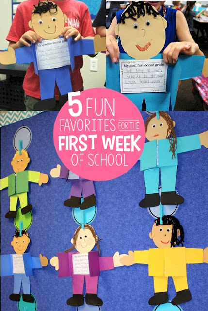 Are you looking for a fun and full first week back to school? Click to visit this post and see 5 of my favorite and most fun activities, games, and crafts that will have your kids laughing, learning, and getting to know all about you and each other!