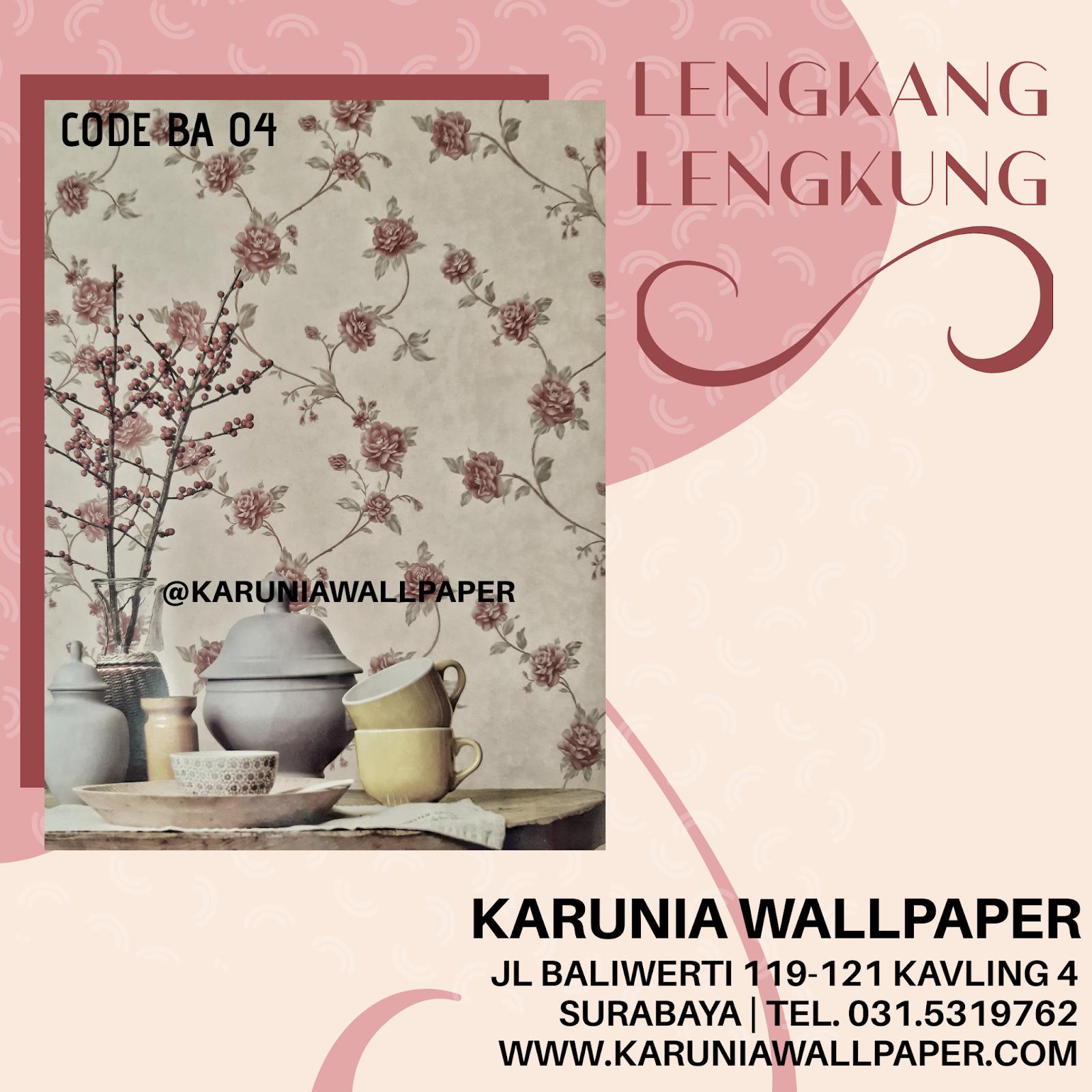 jual wallpaper klasik bunga karuniawallpaper