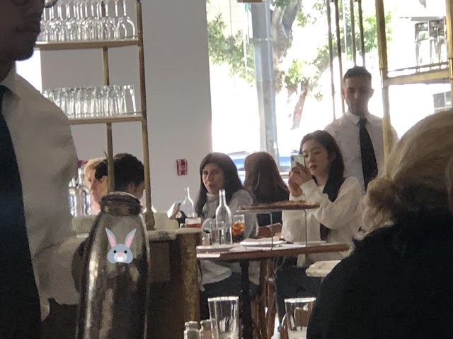 Irene Spotted Hanging Out With BLACKPINK's Jennie In Los Angeles