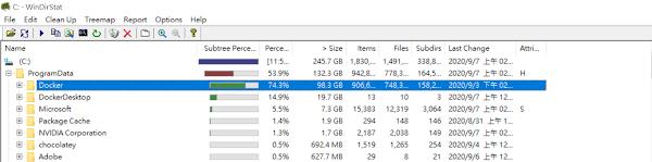 WinDirStat-docker-disk-size