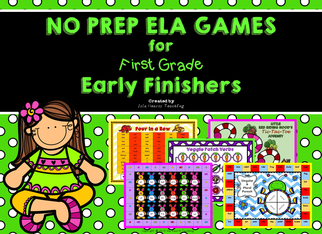 https://www.teacherspayteachers.com/Product/Early-Finisher-ELA-Games-First-Grade-15-GAME-PACK-1764154