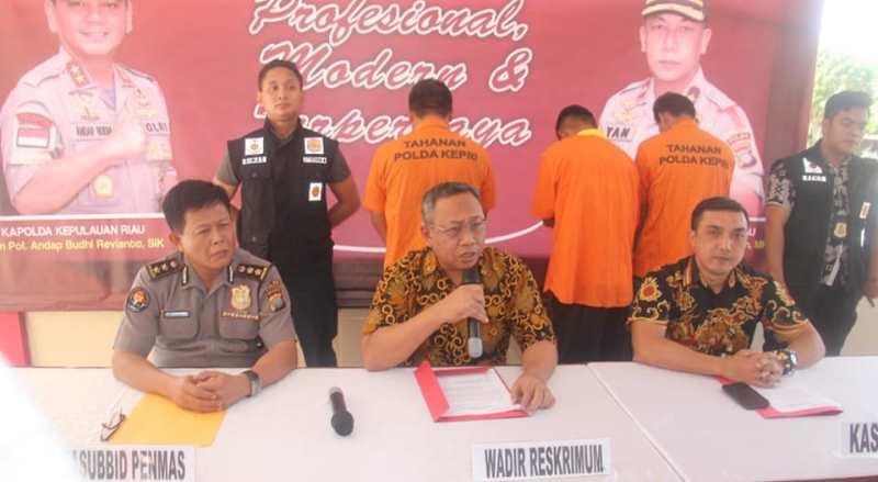 Polda Kepri Selamatkan 11 PMI Ilegal yang Terlantar di Pantai Tanjung Benban Nongsa