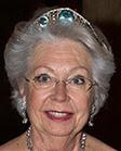aquamarine kokoshnik tiara sweden princess christina