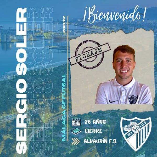 Oficial: El Málaga CF Futsal se refuerza con el experimentado Sergio Soler