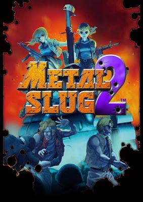 Capa do Metal Slug 2