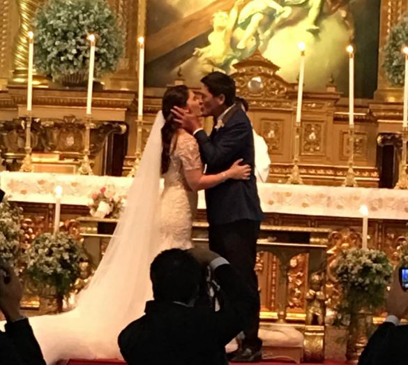 IN PHOTOS: Vic Sotto and Pauleen Luna wedding day