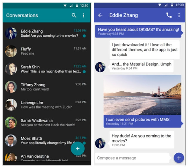 message sms + mms full apk free