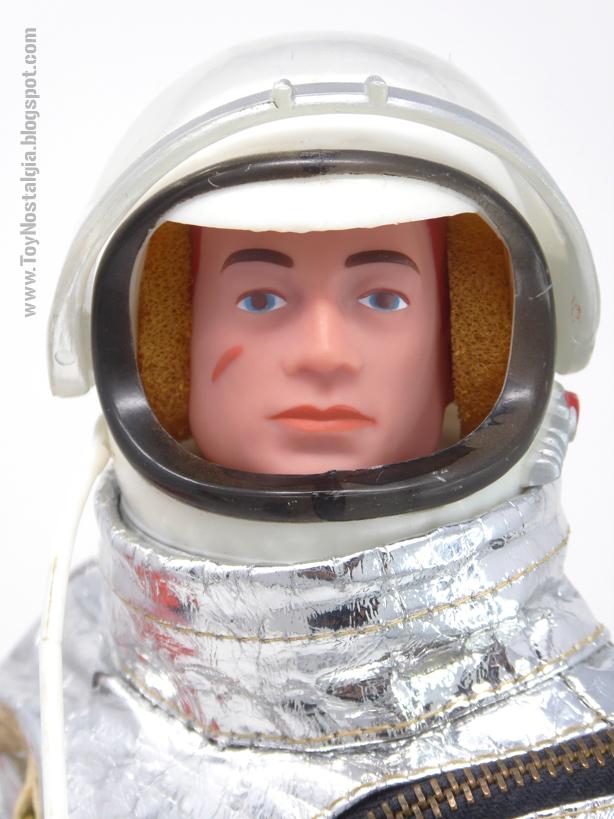 ACTIONMAN Astronauta Casco - Montura de unión (ACTION MAN ASTRONAUT  HASBRO-PALITOY)