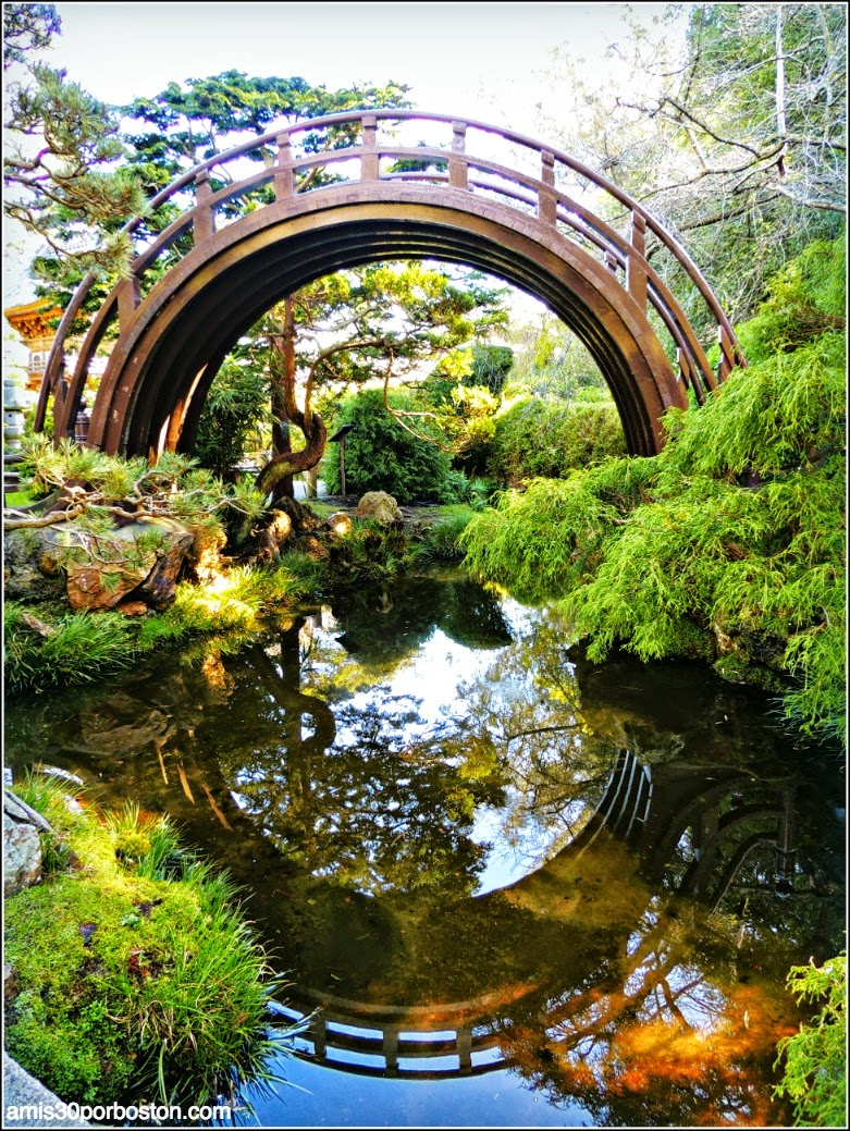 Puente Luna, Japanese Tea Garden: San Francisco
