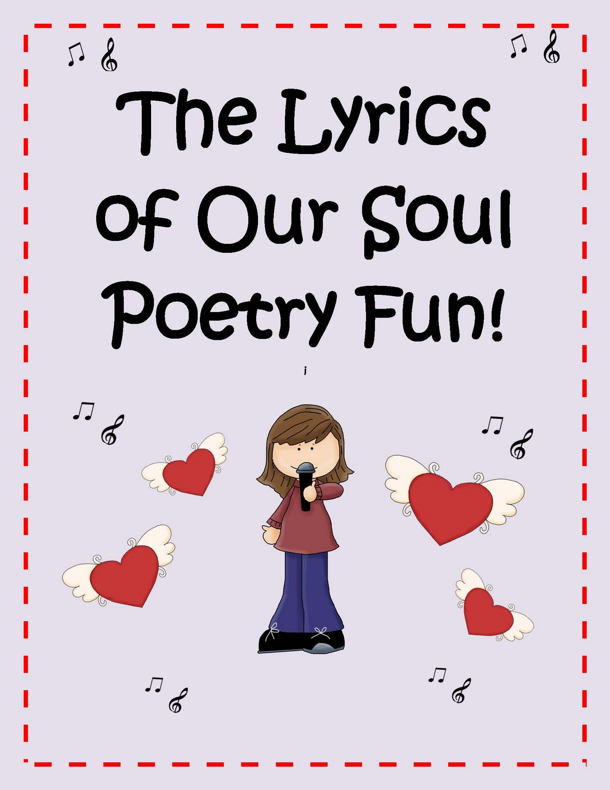 Little Miss Middle School Poetry Activities The Lyrics