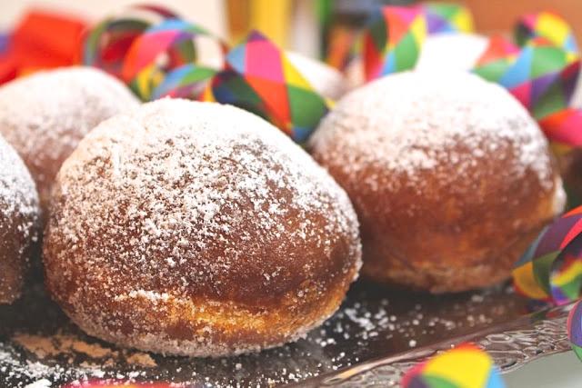 Berliner Pfannkuchen zum Fasching